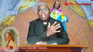 Tafakari Ya Jumapili Ya 30 Ya Mwaka B Wa Kanisa