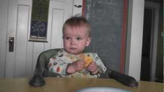 Sweet Potato Crackers for Kids & Babies