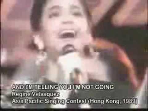 Regine Velasquez Asia Pacific Song Festival 1989 Perfect Pitch