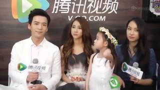 150609 Tencent Interview with《美丽的秘密》Beautiful Secret Cast