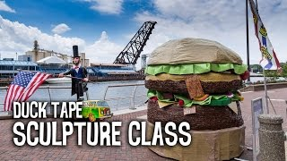 Duck Tape® Road Trip: Sculpture Class at the University of Cincinnati