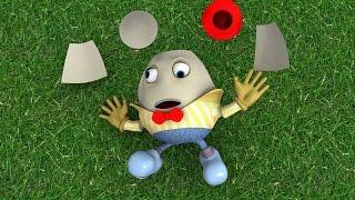 Humpty Dumpty 3D - Nursery Rhymes I Children Songs I Baby Rhyme I Toddler Kids Song I Kindergarten