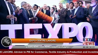 TEXPO PAKISTAN 2019 by TDAP at EXPO CENTRE LAHORE : Media Coverage by EXPO NEWS
