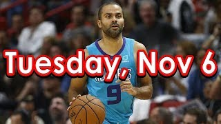NBA DraftKings Picks + FanDuel Picks 11/6/2018