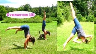 ATTEMPTING AERIALS AND PRESS HANDSTANDS! | SELF-TAUGHT GYMNASTICS | Gymnastics 101