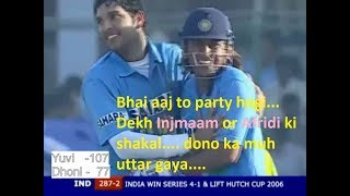 Yuvi 107* and Dhoni 77* Washing out Pakistan in 2006 | Best of Yuvi | Best of Dhoni