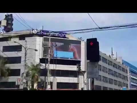 Xxx Mp4 Passing Drivers In Hysterics As Porn Clip Accidentally Broadcast On Huge Billboard Screen In Busy Ci 3gp Sex