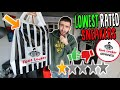 Download Video Download I Bought the LOWEST RATED SNEAKERS from FOOTLOCKER! 3GP MP4 FLV