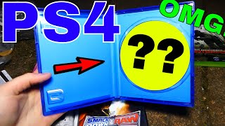 PS4 GAME! FOUND IN DUMPSTER!!! Gamestop Dumpster Dive Night #384