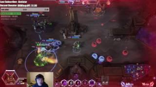Guldan (KR Q Build) high grandmaster hero league gameplay video by Fan