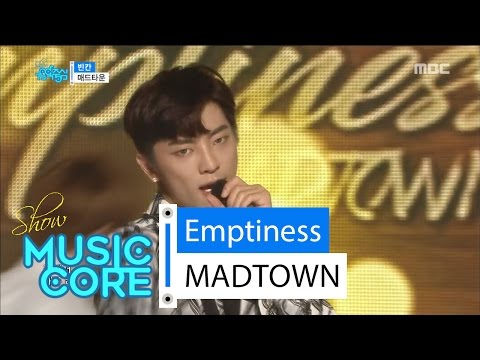 [Comeback Stage] MADTOWN - Emptiness, 매드타운 - 빈칸 Show Music core 20160625