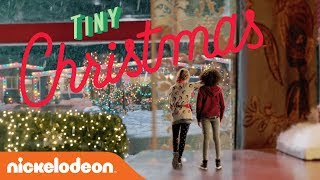 'Tiny Christmas' 🎄 EXCLUSIVE Trailer Starring Lizzy Greene & Riele Downs | Nick