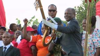 Kabaka Mutebi ushers his subjects into the new year