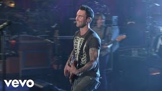 Maroon 5 - If I Never See Your Face Again (Live on Letterman)