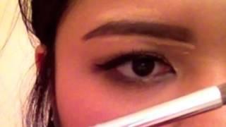 Easy Korean Straight Eyebrows (No Shaving Required)