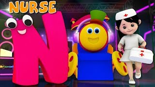 Phonics Letter N | Word Play | Learning Street With Bob The Train | Videos For Toddlers by Kids Tv