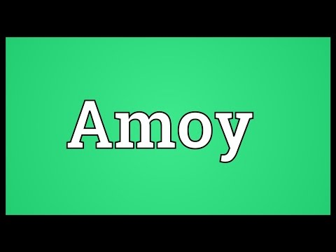 Amoy Meaning