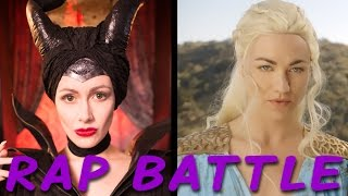 MALEFICENT vs DAENERYS: Princess Rap Battle (Yvonne Strahovski & Whitney Avalon) *explicit*