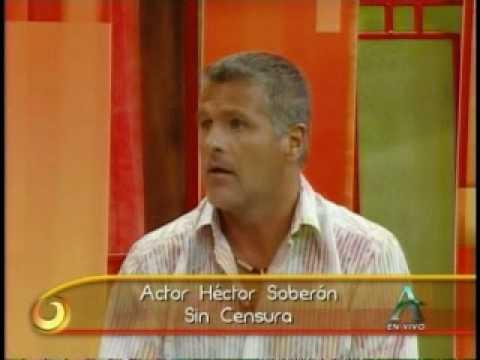 Arrebatados Hector Soberón habla de su ex pareja Michelle Vieth.
