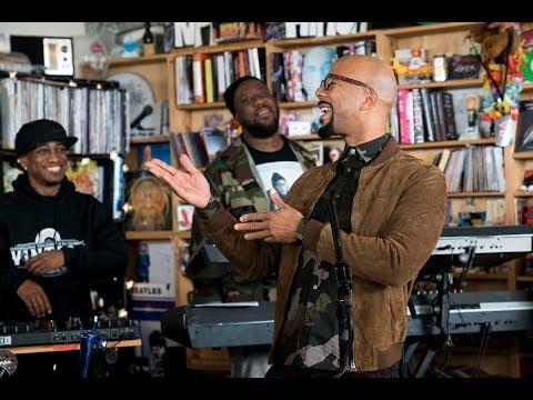 August Greene Common Robert Glasper Karriem Riggins NPR Music Tiny Desk Concert