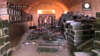 دولت اسلامی ده ها سرباز سوری را به اسارت برد و اعدام کرد