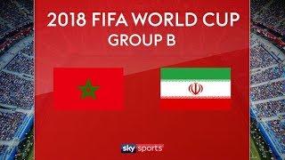 MOROCCO vs IRAN  FIFA 2018 World Cup Russia Full match Highlights