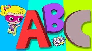 Alphabet Soup | ABC Song | Bottle Squad Videos For Kids