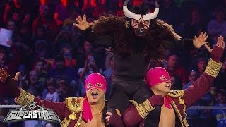 Los Matadores vs. Hunico & Camacho: WWE Superstars, Nov. 22, 2013