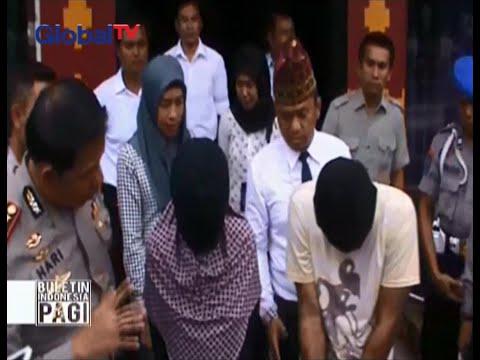 Inilah sosok ibu kandung dan ayah tiri penganiaya anak di Lampung  - BIP 03/03