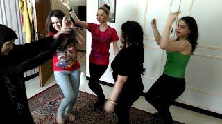 بهترین رقص شاد دختران ایرانی در تهران ایول