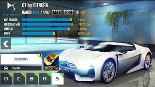 Asphalt 8 - GT by Citroen upgrades (MAX & PRO)