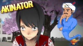 DOES AKINATOR KNOW YANDERE-CHAN!? | Akinator #2