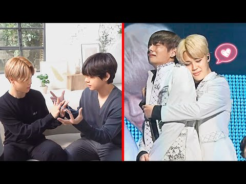 How Jimin and V treat each other TaeMin