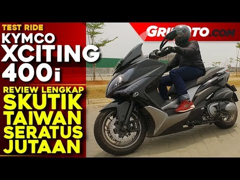 Kymco Xciting 400i l Test Ride Review l GridOto