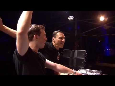Hardwell & Tiësto Back2back Live at Tomorrowland 2014 FULL HD