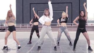Boombayah Dance cover by BLACK QUEEN - MIRROR 5 người cho Double X