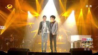 我是歌手-第二季-第13期-张杰&林俊杰《最美的太阳》-【湖南卫视官方版1080P】20140404