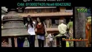 Chautari    Nepali Lok Geet  New Nepali Lok Dohori 2012 - Herina Bho Dherai2.flv