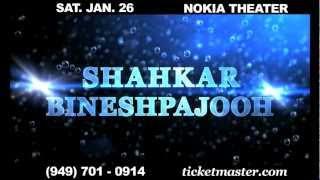 Shahkar Bineshpajooh - Live Concert at Nokia - Los Angeles