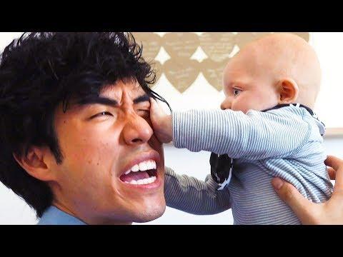 Eugene Babysits Ned s Baby