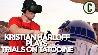 Kristian Harloff Becomes a Jedi Playing Trials On Tatooine VR
