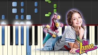 Alas / Soy Luna / Piano Tutorial / Synthesia / Notas Musicales / Cover
