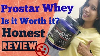 Ultimate Nutrition Whey Protein Review || 100% Prostar