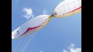 Paragliding CRaSH 5 (Termal starts)