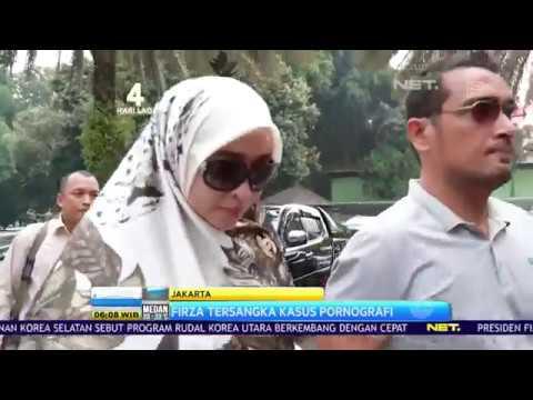 Firza Husein Menjadi Tersangka Kasus Pornografi