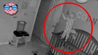 Top 10 CREEPY Moments Caught on a Baby Monitor