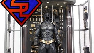 The Dark Knight Hot Toys Batman Armory With Batman Movie Masterpiece 1/6 Scale Set Review