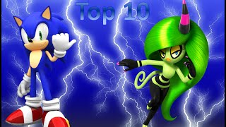 Top 10 Least Favorite Sonic Boss Battles