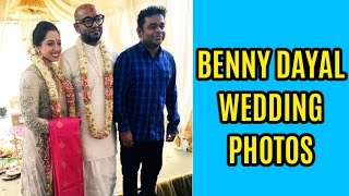 Benny Dayal Marriage Photos