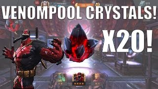 Marvel Contest of Champions | 20 VENOMPOOL CRYSTALS!